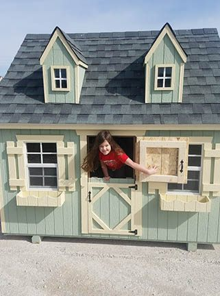Play houses for sale at Drilling's All Season Sports