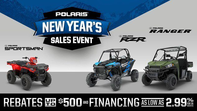 Polaris New Year's Sales Event