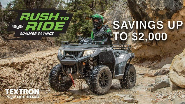 Arctic Cat (Textron Legacy) Rush To Ride Sales Event