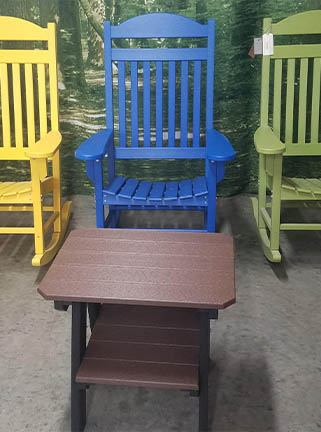 Outdoor furniture for sale at Drilling's All Season Sports